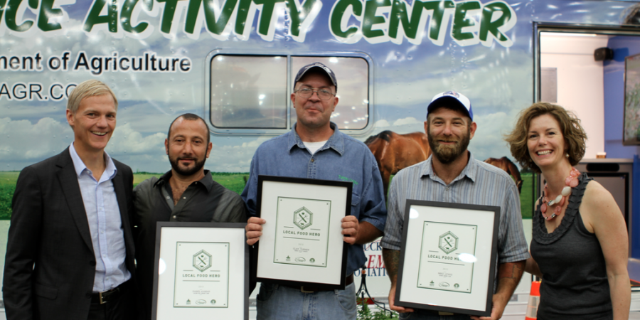 Congratulations to our 2013 Local Food Heroes!